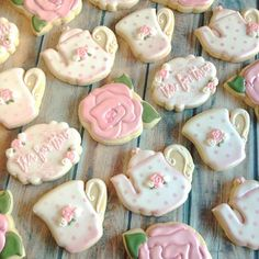 Tea for two #cloviscookies #clovisbaker #clovisbakery