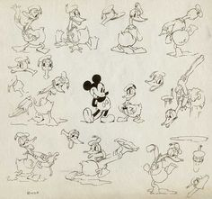John K Stuff: Animation School. Lesson 9: Model sheets/Steve's gift to young cartoonists who thirst for knowledge