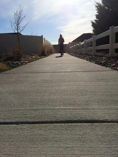 Morning walk on a beautiful Wyoming day! Laramie has wonderful bike paths and walking paths!