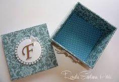 Resultado de imagem para caixas em mdf decoradas com tecido