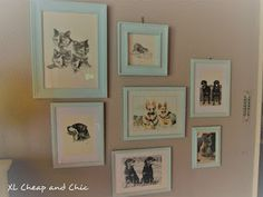 XL Cheap & Chic: Kotona tapahtuu - Things going on at home. Chalk Paint, Gallery Wall, Chic, Frame, Home Decor, Shabby Chic, Picture Frame, Elegant, Decoration Home