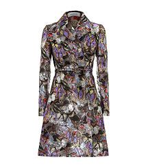 Camubutterfly Brocade Coat