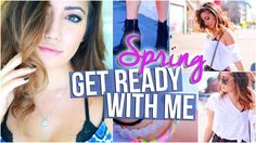 Spring 2015 // Makeup, Hair & Outfit Ideas For Spring