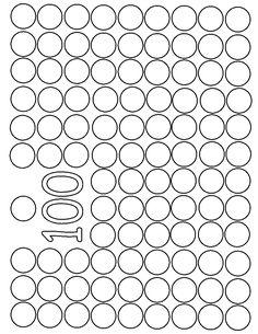 Bingo dot 100 dots