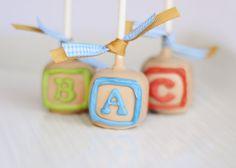 ABC Baby Blocks Cake Pops