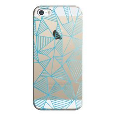 iPhone 6 Plus/6/5/5s/5c Case - Abstraction Lines Watercolour... ($35) ❤ liked on Polyvore featuring accessories, tech accessories, phone, iphone case, iphone cover case, transparent iphone case and apple iphone cases