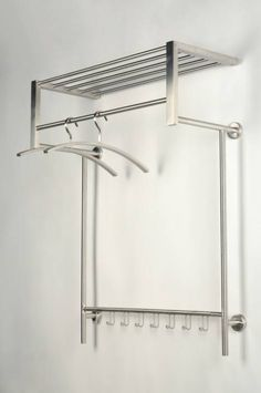 Garderobe 10800: Modern, Metall, Stahl Rostbestaendig, Rechteckig