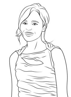 ellen page coloring page from pop stars celebreties category select from 27065 printable crafts of cartoons nature animals bible and many more - Mona Lisa Coloring Page Printable