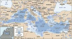 mediterranean sea map gif the mediterranean sea separates europe from Cruise Travel, Travel Tours, Corinth Canal, Inclusive Resorts, Mediterranean Sea, Corsica, Dream Vacations, Geography, History