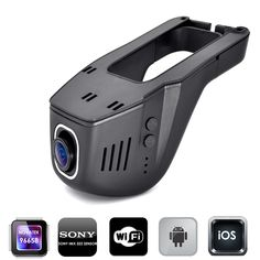 Car DVR DVRs Registrator Digital Video Recorder Camcorder Dash Camera Cam 1080P Night Version Novatek 96658 IMX 322 Wide A1 WiFi ** Click the image for detailed description