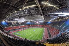 """Guarda le foto su Cardiff, il Principality Stadium con il tetto retrattile """"made in Italy"""""""