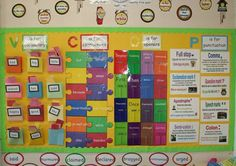 like the Vocab pockets - get kids involved