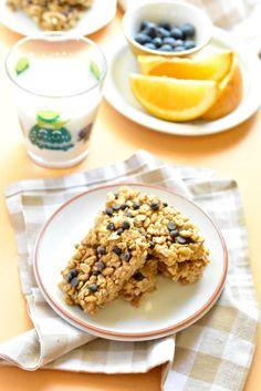 Healthy No Bake Granola Bars - Fork and Beans @ForkandBeans