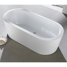 56 inch freestanding tub. a\u0026e bath and shower retro pure acrylic 56 inch double ended freestanding tub package   morris moody pinterest acrylics, bathtubs r