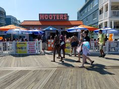 Perspective | In Ocean City, Hooters, thongs and horror over topless women on the beach
