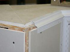 Niche Bead | Trim-Tex | Drywall Products Drywall, Baseboards, Vinyl Trim, Gypsum, Beaded Trim, Ceiling Design, Paint Designs, Steel Frame, Entertainment