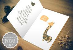 Greeting Card Mockup by Cursive Q Designs on Creative Market