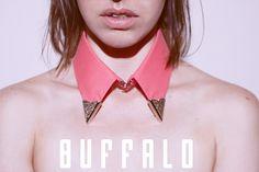Buffalo cuellos Cuello Texas con punteras metalicas