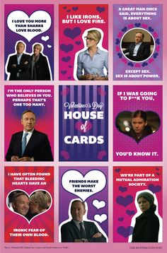 Celebrate Valentine's Day With These 'House Of Cards' Valentines