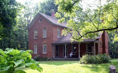 I want to find an old brick farmhouse...