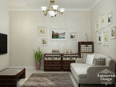 Дизайн спальни в особняке