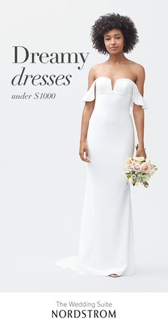 Complete your big day with the dress of your dreams. The Wedding Suite is your one-stop shop for everything but the vows. Whether your style is classic, modern or boho, there's a dress waiting for you. Find the one at Nordstrom. Click above VISIT link for Bridal Gowns, Wedding Gowns, Wedding Ceremony, Lace Wedding, Civil Ceremony, Homecoming Dresses, Bridesmaid Dresses, Bridesmaids, Grand Jour