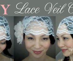 This is a simple tutorial on how to make a lace veil cap. Videotutorial