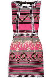 MillyJacquard mini dress