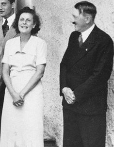 * Leni Riefenstahl & Adolf Hitler *
