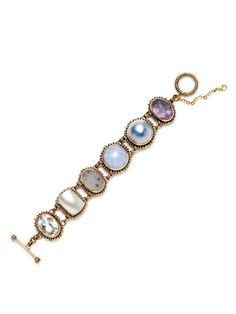 Stephen Dweck Blue Multi-Shape Station Bracelet