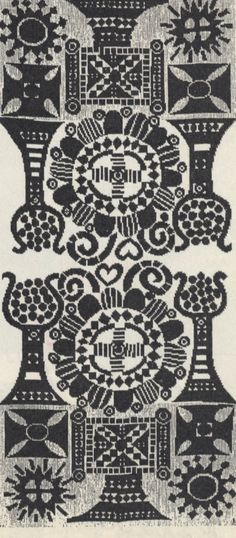 Wall hanging (täkänä), design by Pirkko Hammarberg, manufactured by Helmi Vuorelma. 1966