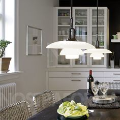 Louis Poulsen PH 3/2 Academy lustre » Design Luminaires Contemporains, Lampes & Mobiliers » NOSTRAFORMA.
