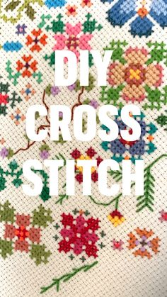Scrap Fabric Projects, Fabric Scraps, Sewing Projects, Diy Embroidery, Cross Stitch Embroidery, Cross Stitch Designs, Free Cross Stitch Patterns, Crafty Craft, Crafting