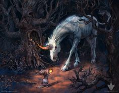 Montague Mouse: Meeting the Unicorn by kirileonard