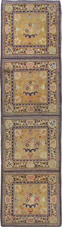 Antique Khotan Runner, No. 9495 - 2ft. 4in. x 8ft. 10in.