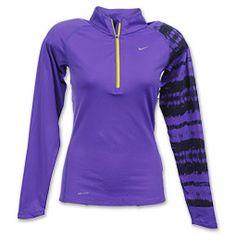 Nike Printed Element Half Zip Long Sleeve #FinishLine #Deals $45.50