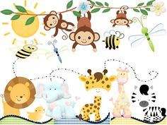 decoracion fiestas infantiles selva - Buscar con Google