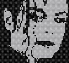 Free Michal Jackson Cross Stitch Pattern