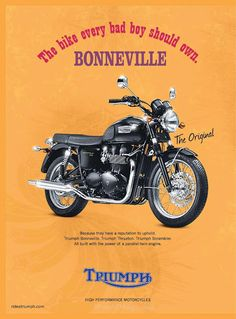 Yes they should - a Triumph Bonneville.