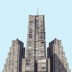 I Found Architecture From Star Wars In Belgrade | Bored Panda