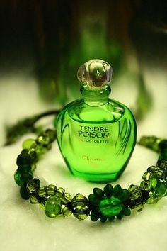 Tendre Poison by Christian Dior - My favorite perfume of all time!  Received compliments every time I wore it.
