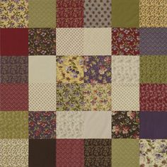 The Easiest Quilt Ever - picturing this in ocean watercolors!