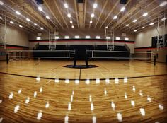 Glenn High School in Texas. Leander ISD. Sports Imports volleyball net systems.