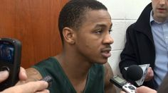Watch: 2/19/14- MSU Men's Basketball players preview Purdue