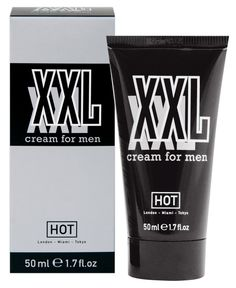HOT XXL CREAM for Men's Performance Enhancement 50ml Reference:  350000700130 Condition:  New product  Whoever said, 'size doesn't matter' obviously had no problems with their own package! But almost every woman will tell you that they like it large! For that very same reason, the XXL Cream for men by HOT is a real boon!