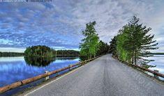 Punkaharju, Finland Ridge Road, Habitats, Beautiful Places, Road Trip, Landscapes, Country Roads, Nature, Summer, Travel