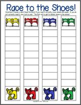 A cute game for letter recognition...printable