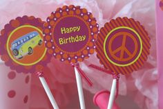 Peace & Love Party by Meemo Party Accessories Party Centerpieces, Party Accessories, Best Part Of Me, Peace And Love, Party Goods, Birthday Parties, Crafty, Party Party, Sweet