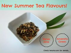 Awesome new #tea #flavours for #summer! Our #teanotes make the perfect #gift. Visit tenota.com for details!