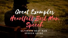 From sentimental to serving up great one-liners, our best man speech examples will help get those creative juices flowing & save you time! Best Man Speech Examples, Groom Speech Examples, Best Man Wedding Speeches, Best Speeches, Great One Liners, One Liner Jokes, Wedding Toast Samples, Maid Of Honor Speech